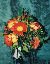 Fall Bridal Bouquet in Ottawa ON, The Fresh Flower Company