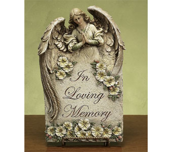 In Loving Memory Plaque in Royal Oak MI, Affordable Flowers