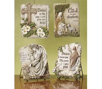 Religious Stepping Stones in Royal Oak MI, Affordable Flowers