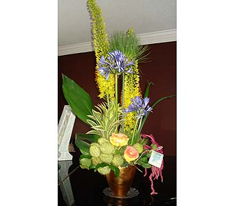 Golden Paradise in Thornhill ON, Wisteria Floral Design