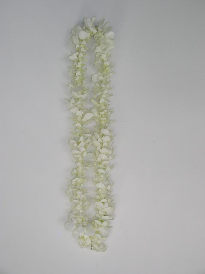 Single White Lei in Redlands CA, Hockridge Florist