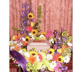 Funeral Sympathy Spray Flowers