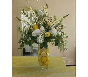 Lively Lemons in Tacoma WA, Blitz & Co Florist