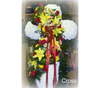 Swag Cross in Staten Island NY, Kitty's and Family Florist Inc.