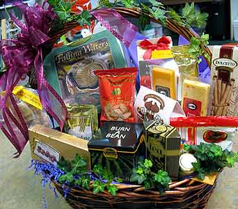 Gourmet Gift Basket in Silvermill Plaza FL, Buds, Blooms & Beyond