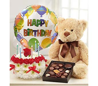 Ultimate Birthday Bundle in Bradenton FL, Ms. Scarlett's Flowers & Gifts