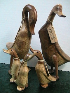 Hand Carved Ducks in Gautier MS, Flower Patch Florist & Gifts