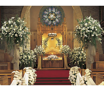 Church Ceremonies in Longview TX, The Flower Peddler, Inc.