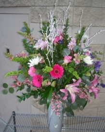Mixed Bobbie's Special in Pinks and Lavender in Tempe AZ, Bobbie's Flowers