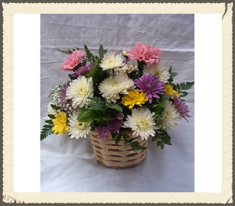 all round basket in Bellmore NY, Petite Florist