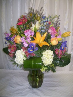 Colorful Arrangement in Fairfax VA, Exotica Florist, Inc.
