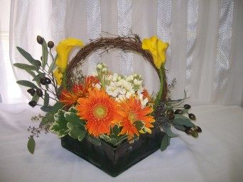 Elegant Basket in Fairfax VA, Exotica Florist, Inc.