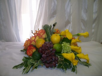 Fruity Arrangement in Fairfax VA, Exotica Florist, Inc.