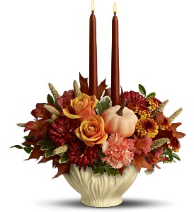 Lenox Gift of Autumn by Teleflora in Vine Grove KY, Blossoms & Heirlooms