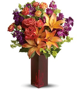 Teleflora's Autumn in New York in Phoenix AZ, Robyn's Nest at La Paloma Flowers