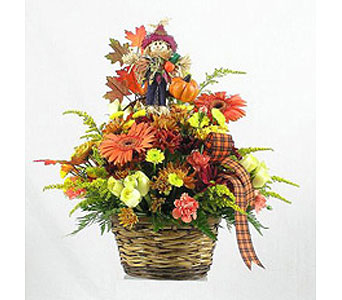 Scarecrow Basket in Big Rapids, Cadillac, Reed City and Canadian Lakes MI, Patterson's Flowers, Inc.
