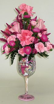 Think Pink in Salisbury MD, Kitty's Flowers