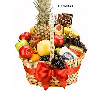 Fruit Cheese & Crackers in Hamden CT, Glen Terrace Flowers and Gifts