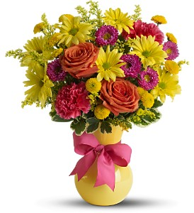 Teleflora's Hooray-diant! in Titusville FL, Floral Creations By Dawn
