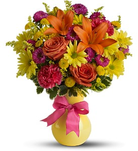 Teleflora's Hooray-diant! - Deluxe in Vancouver BC, Davie Flowers