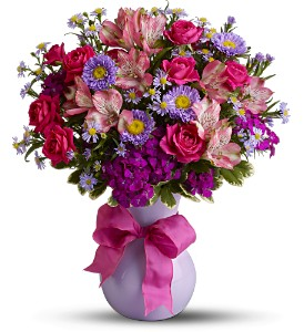 Teleflora's Simply Irresistible in Houston TX, Village Greenery & Flowers