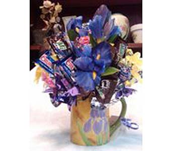 Candy Bouquet in Laramie WY, Fresh Flower Fantasy