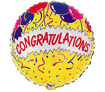 Congratulations Mylar Balloon in Oklahoma City OK, Trochta's