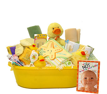 Ducky Bath Time Gift Basket in Birmingham AL, Norton's Florist