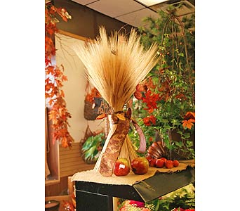 Harvest Wheat Sheaf in Northfield MN, Forget-Me-Not Florist