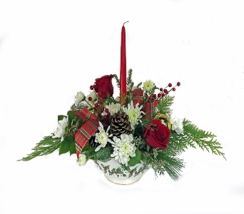 Do it Yourself Holiday Centerpiece Dec 20th in Ferndale MI, Blumz...by JRDesigns