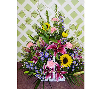 Blooming Basket in Raleigh NC, Gingerbread House Florist - Raleigh NC