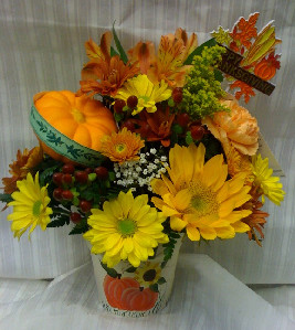 FALL PUMPKIN PATCH in Bellmore NY, Petite Florist