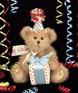 Bearington Bear - Beary Happy Birthday in Chicago IL, The Flower Cottage