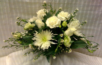 OBLONG CENTERPEICE in Bellmore NY, Petite Florist