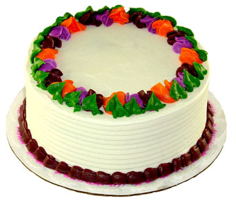 Fresh Baked Yellow Cake by Bakery Delights in Baltimore MD, Raimondi's Flowers & Fruit Baskets