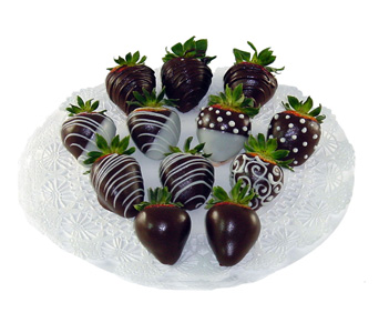 how to send chocolate covered strawberries in the mail