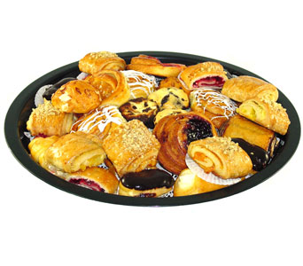 Assorted Danish / Pastries Tray in Baltimore MD, Raimondi's Flowers & Fruit Baskets