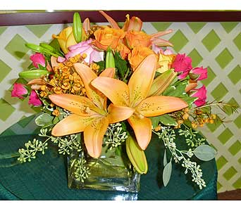 Lilies in Paradise in Raleigh NC, Gingerbread House Florist - Raleigh NC