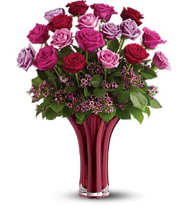 Teleflora's Ruby Nights Bouquet - Deluxe in Mount Vernon WA, Enchanted Florist