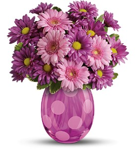 Teleflora's Lots of Dots Bouquet in Chicago IL, Prost Florist