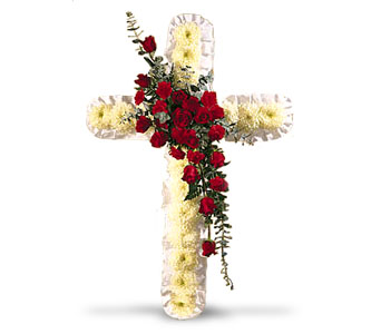 Cross in Irvington NJ, Jaeger Florist