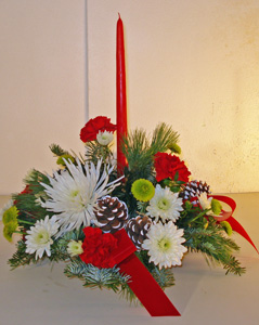 Christmas solo in Naples FL, Gene's 5th Ave Florist