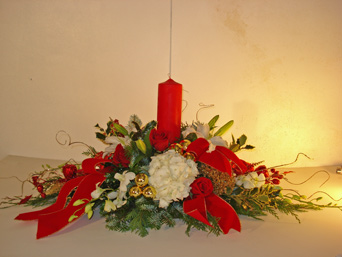 Classic Christmas in Naples FL, Gene's 5th Ave Florist