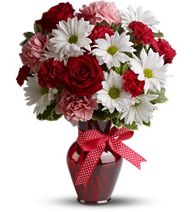 Hugs and Kisses in Southington CT, The Garden Path Florist