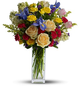 Teleflora's Harmony of Hues in Los Angeles CA, Haru Florist