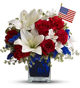 America the Beautiful by Teleflora in Jensen Beach FL, Brandy's Flowers & Candies