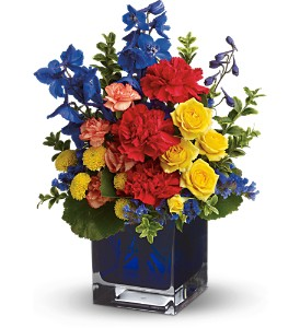 Teleflora's Color Collage in Chicago IL, La Salle Flowers