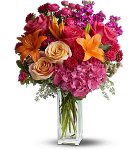 Teleflora's Joy Forever in St. Petersburg FL, Artistic Flowers