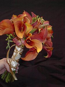 Calla and Freesia Bouquet in Guelph ON, Patti's Flower Boutique