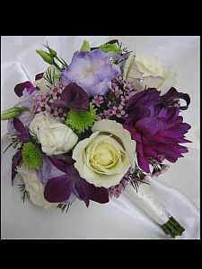 Purple Bouquet in Guelph ON, Patti's Flower Boutique
